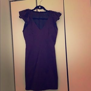French Connection size 8 plum mini dress